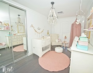 Nest Design Studio - Story Girls Nursery Design Childrens Interiors26